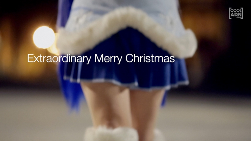 VOCALOID - Hatsune Miku & Gumi - Extraordinary Merry Christmas ( Cosplay PV )